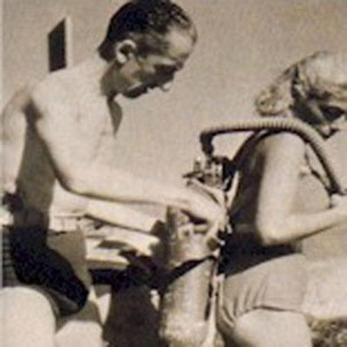 Ilk kadın dalgıç,  Simone Cousteau